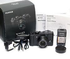 Fuji Fujifilm X10 12.0MP Camera - Black - Boxed - Superb