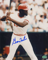 GEORGE FOSTER SIGNED 8x10 CINCINNATI REDS PHOTO NY METS SF GIANTS WHITE SOX PSA
