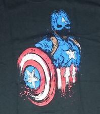 Captain America design t-shirt size mens Medium marvel comics