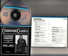W.GERMANY FS- COLEMAN HAWKINS- Chocolate Dandies/Leonard Feather Allstars CD
