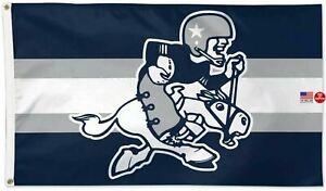 Dallas Cowboys Retro Throwback Football 3 x 5 Flag 3x5 Banner Man Cave New USA