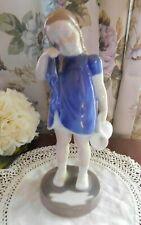 Royal Copenhagen Denmark 2246 B&G Bing & Grondahl Girl Figurine, Spilled Milk