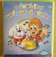 NEW SEALED - KIDS ANIMAL SONGS - Children's Nursery Rhymes Songs Music CD Album