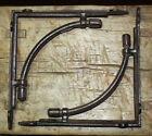 4 LARGE HD Cast Iron Antique Style CABLE Brackets Garden Braces Shelf Bracket
