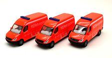 """Siku 0804/805 """" 3 x  Mercedes-Benz Sprinter - Feuerwehr RTW """""""