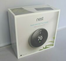 Nest Learning Thermostat 3rd Generation Mirror Black T3018US