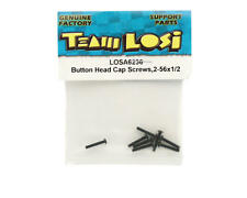 "LOSA6236 Losi 2-56 x 1/2"" Button Head Screws"