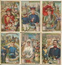 Chromo Liebig Sang. 456 TED I Piccoli Diventano Grandi ANNO 1895