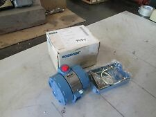 Rosemount RTD Alphaline Temperature Transmitter P/N 0444RL3U1A2NAB0912 (NIB)