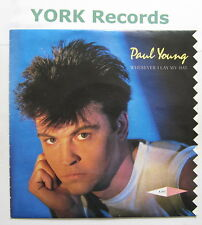 "PAUL YOUNG - Wherever I Lay My Hat - Ex Con 7"" Single"