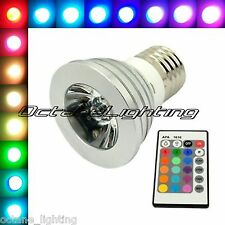 LED RGB Color Changing Bar Dj Rave Dance Pool Table Night Club Lamp Light Bulb