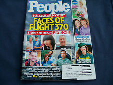 People Magazine - Faces of Flight 370 - March 31, 2014 Weekly Issue