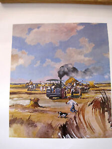 Zimbabwe South African Farm Print Larry Green 13.5x15.5
