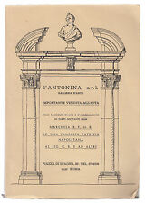 L'ANTONINA-VENDITA ALL'ASTA DEI BENI DELLA MARCHESA B.F. DI B. ROMA 1976-L2698