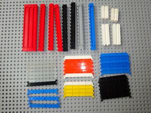 Lego Konvolut Garage Rolltor Sektional Lamellen 4218 4219 Nut 4216 Schienen 4217
