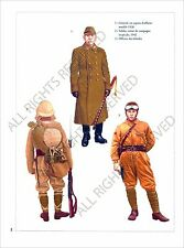 PLANCHE UNIFORMS PRINT WWII JAPAN ARMY ARMEE JAPON Imperial General Officer