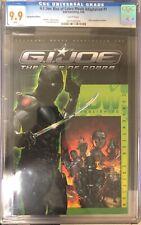 GI Joe Rise Of Cobra Movie Adaptation #1 CGC 9.9