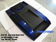BLUE 39A HOOD SCOOP BONNET COVER FORD RANGER MK2 PX2 WILDTRAK XLT XL 15 16 17