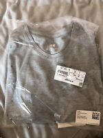 Mens h&m Grey Slim Fit T Shirt Size Small