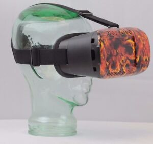 Flaming Skulls VR Headset for Smartphone iphone google android samsung LG