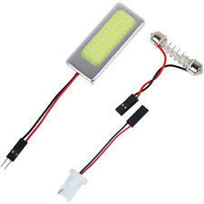 6W COB LED Car Reading Lamp Interior Panel Light with T10 Festoon Dome Adapter