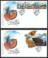 2018 MALAYSIA FDC - OMAMENTAL FISHES