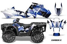 Polaris Sportsman WV850 ATV Graphic Kit Wrap Quad Accessories WV Decals CARBON U