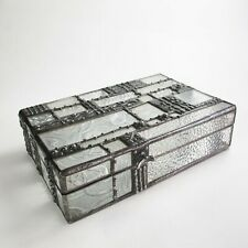 Art deco style stained glass jewelry box by 1178designs - one-of-a-kind.
