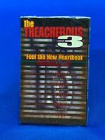 The Treacherous Three 3 ‎– Feel The NEW Heartbeat Cassette Tape Single Hip Hop