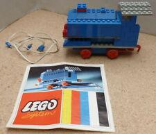 Lego 113 Vintage 4.5v Train Set Motorized From 1960's