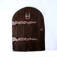 FAIRY SPARKLES - LARGE DOOR WITH LOVELY RHINESTONES - LET YOUR SECRET FRIENDS