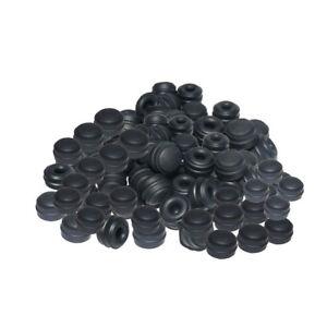 100 ATE Style - Rubber Brake Bleed Nipple Caps Bleed Screw Caps Covers NC3x100
