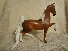 Peter Stone American Saddlebred ASB Stallion Trotting Model Horse CM Signed