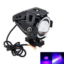 125W 3000LM Motor Motorrad CREE U7 LED Scheinwerfer Headlight Driving Fog Licht