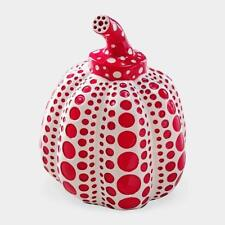 Yayoi Kusama Pumpkin Lammfromm Japan Artist Paperweight Object Sculpture Red EMS