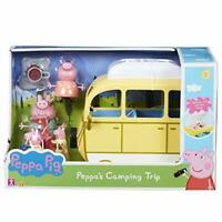 Peppa Pig Camping Trip Playset   Articulated Peppa Family Figures   Age 3 Years+