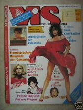 VIS TELEVISION 06 (6/85) PRINCE NASTASSJA KINSKI