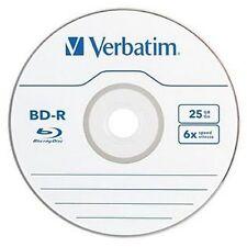 Verbatim Blu-ray BD-R Discs