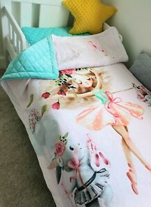 ballerina blanket junior bed