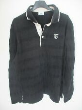 Polo LACOSTE Golf Devanlay noir coton manches longues taille XL