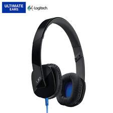 Logitech UE 4000 On-Ear Stereo 3.5mm Wired Headset Headphones Microphone Black