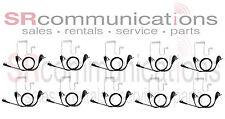 QTY10 Lapel Microphone headset Kenwood TK2312 TK3312 TK3160 TK2170 TK3170 TK3200