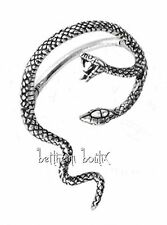 Goth : Alchemy Boucle d' Oreille Unique Serpent Hydra Single Gothique