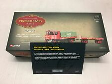 Corgi Sentinel Platform Wagon Trailer and Load United Africa 80007 Boxed