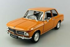 WELLY BMW 2002ti ORANGE 1:24 DIE CAST METAL MODEL NEW IN BOX