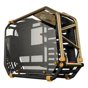 IN WIN D-FRAME v2, LIMITED EDITION OPEN FRAME CHASSIS - GOLD/BLACK
