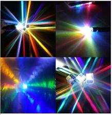 2PCS Defekte X-Cube Prism Glass RGB Physik Wissenschaft Lernen Dekoration