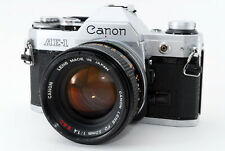 [Excellent Canon AE-1 SLR Film Camera w/FD 50mm f/1.4 SSC From Japan #683756