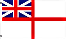 Uk White Ensign Historical Flag 3x5 Polyester United Kingdom British