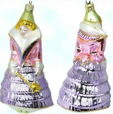 "New ListingPolonaise Glass Ornament ""Fairy Godmother"" Cinderella 1996 * New * Free Shipping"